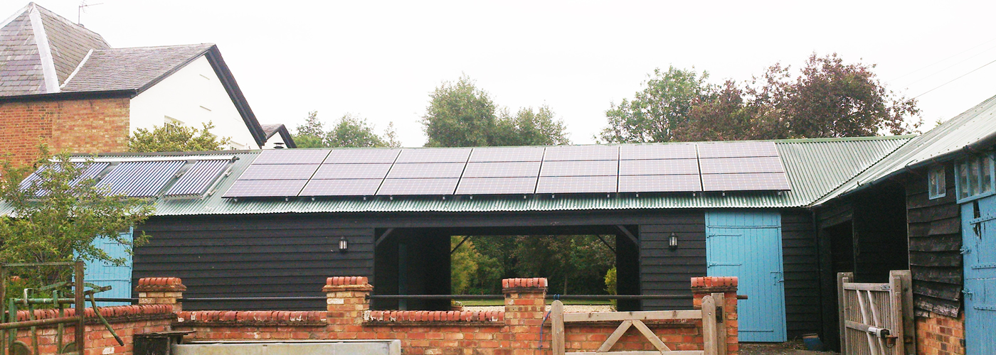 Stable roof solar