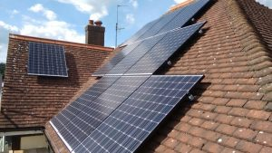 4 bed solar installation clapham bedford